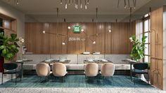 Blum cafe, L'viv, 2017 - Azovskiy & Pahomova architects