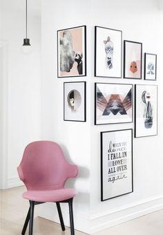 12 snygga sätt att inreda med posters   ELLE Decoration