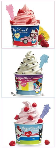 Hello Kitty is back at Yogurtland! Going this week to see the new cups :)