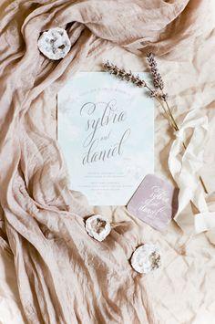 Whimsical, Romantic Watercolor Invitations