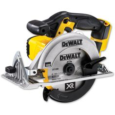 The DeWALT DCS391 premium circular saw is an efficient cordless solution for trimming wood panels, sheet materials and chipboard. It has a powerful and highly efficient PM58 fan cooled motor with replaceable brushes. It has an extremely durable design and construction, including a cast magnesium base, which allows repetitive, accurate cuts. The saw is capable of cutting bevels up to 50°. It has a spindle lock for quick and easy blade change. The ergonomic handle with rubber over-mould makes… Best Cordless Circular Saw, Best Circular Saw, Dewalt Power Tools, Circular Saw Reviews, Bosch Professional, Saw Tool, V Max, Shopping, Woodworking Tools