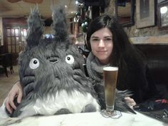 ENORMOUS TOTORO soft toy by MOLAPILA on Etsy https://www.etsy.com/listing/94745601/enormous-totoro-soft-toy