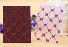 Plastic embossing folder geometry butterfly DIY scrapbook craft Material: plastic name: DIY embossing folder stencils template usage: scrapbooking card decoration description: fashion Morden arabesque color: transparent as picture logo: Alina Craft size: 10x7.5cm  10x7.5cm  plastic embossing folders for DIY scrapbooking card envelop album frame decoration templete Quantity:1pc Material:plastic Color:as picture Size(approx):10x7.5cm Conversion: 1cm=0.39inch /1 inch =2.54cm  Maybe 0.1-0.2cm…