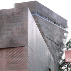 San Francisco, de Young Museum, M. H. de Young Memorial Museum, Opening of the New Museum in 2005, Herzog & de Meuron, Fong & Chan, Exterior Cladding in Copper, Embossed and Perforated