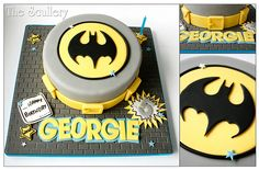Batman Cake Batman Cakes, Batman Food, Batman Batman, Spiderman, Snowman Cake, Cake Decorating With Fondant, Superhero Cake, Character Cakes, Cake Pictures