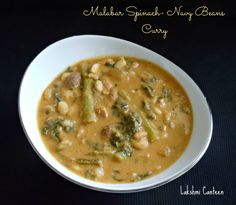 Vaali- Tingalavre Gashi is a coconut based dish. The malabar spinach and navy beans is cooked and then simmered in coconut sauce. It is fin...