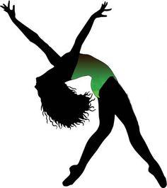 Ballet Dancing Silhouette   Hip Hop Girls Silhouettes