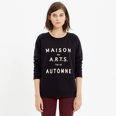 Maison des A.R.T.S. Sweatshirt - tees & more - Women's NEW ARRIVALS - Madewell