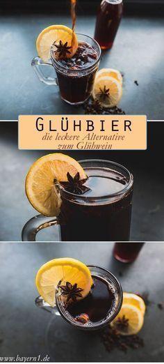 Eine sehr leckere Alternative zum Glühwein ist das Glühbier - das Rezept gibt es bei uns - und dieses Glühbein schmeckt auch mit alkoholfreiem Bier!