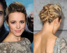 Beautiful up-do. Also, Love her!