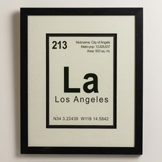 Breaking LA Wall Art | I could so make this