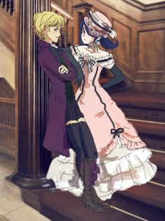 I love this so much!!!! But why is Adrien Alois? That makes me sad but at least Marinette is Ciel.