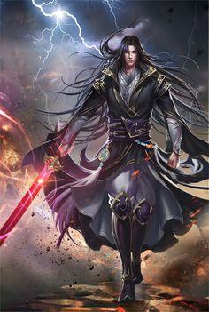 Fantasy art male character inspiration swords Ideas for 2019 Fantasy Art Men, High Fantasy, Fantasy Warrior, Fantasy Rpg, Fantasy Artwork, Fantasy Books, Character Inspiration, Character Art, Character Design