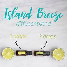 Escape to the tropics with this Island Breeze Diffuser Blend. It is basically a vacation in a bottle (or diffuser). Enjoy my Bahama mammas!