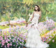 YolanCris |Wedding dresses with pockets. The latest bridal trends 2015 by YolanCris