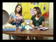 Cartonnage: Sewing box. Video tutorial in portuguese, but the step by step is clear.
