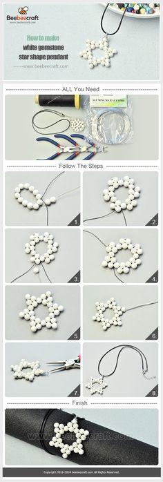 Idee, wie man mit - Isa Cons - Pin shape m. Jewelry Making Tutorials, Jewelry Making Beads, Beaded Earrings, Beaded Bracelets, Beaded Jewelry Designs, Semi Precious Beads, Holiday Jewelry, Earring Tutorial, Bijoux Diy