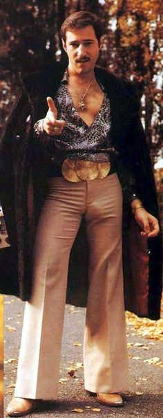 1970s men fashion. Oh. No. God, no!