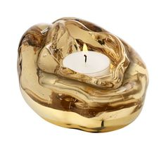 Golden vulva candle holder by designer  Åsa Jungnelius from Kosta Boda. All I want for christmas is you...