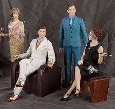 1920's Dolls by Maria Jose Santos (Size: Large) - Dolls, Figures & Animals - Gallery - IGMA Fine Miniatures Forum