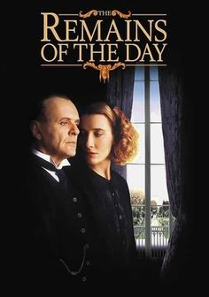 I don't know how I missed The Remains of the Day when it came out. I just saw it on the DVD and was blown away by this film, starring Anthony Hopkins and Emma Thompson. This film as nominated for eight Oscars; including best actor, actress, film and director; and I can see why. The acting is superb and the movie shows both the epic feel as well as intimate feel. This movie about the servants during the early war days is one of the most excellent films I have seen in a while.