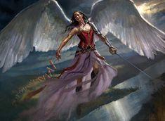 Stunning Concept Art by Karl Kopinski Dark Souls, Fantasy Characters, Female Characters, Dnd Characters, Character Portraits, Character Art, Magic The Gathering, Karl Kopinski, Angel Artwork