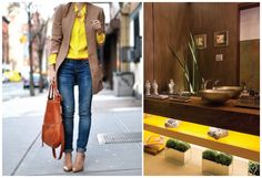 Yellow fever: fashion x decor #fashion #decor #yellow #amarelo #casadasamigas