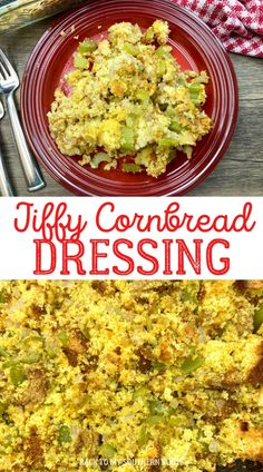 Jiffy cornbread dressing is a delicious and traditional side dish for the holiday season. It's easy to make and everyone loves it.