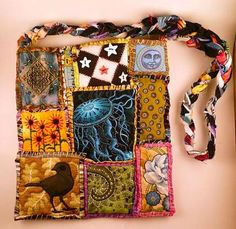 Como fazer em casa sua própria bolsa em patchwork