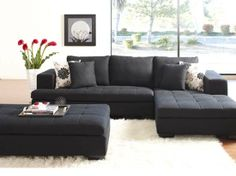 Exactly the kind of thing I want for a family room someday...pull up the ottoman for a family movie or kids' sleepover