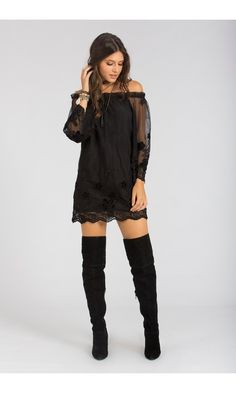 Vestido Gypsy Tule Bordado - Agatha e-Store