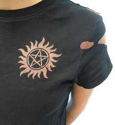 AntiPossession Tattoo Castiel's Handprint by ForTheFans on Etsy, $25.00