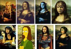 Mona Lisa, La Joconde, détournements artistiques et pub | Nebuleuz