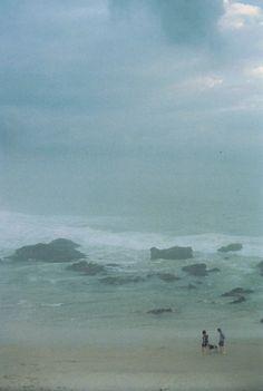 joshhedge:  Foggy seas