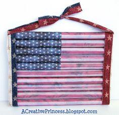 Flag - pvc pipe