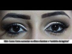 """Assista esta dica sobre MINI-CURSO: Como aumentar os olhos e iluminar o """"cantinho da lágrima"""" e muitas outras dicas de maquiagem no nosso vlog Dicas de Maquiagem."""