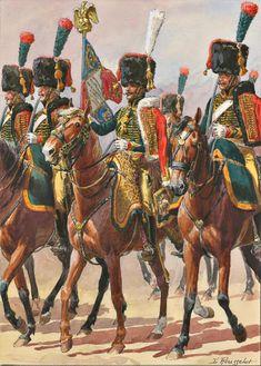 Наполеоновские мечи и сабли коллекции: меч-офицер Конный Егерь из Императорской гвардии Наполеона