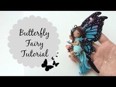 How to make dolls and flower fairy dolls. This easy DIY doll making tutorial will teach you how to make a doll using a basic flower fairy doll technique. Fimo Polymer Clay, Polymer Clay Projects, Clay Crafts, Diy Clay, Wings Tutorial, Doll Tutorial, Doll Making Tutorials, Clay Tutorials, Clay Fairies