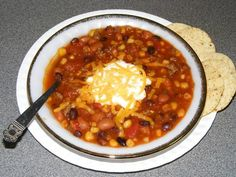 7 Can Taco Soup.  Absurdly easy, healthy and tasty.  You literally dump a bunch of cans together with some taco seasoning and heat it up (Gluten-free, dairy-free).