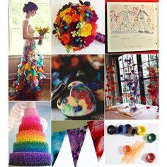 Theme Thursday: Crayon Rainbow Inspiration