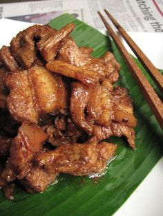 Learn what are Chinese Meat Cooking Bbq Pork Roast, Pork Ribs, Fried Pork Belly, Pork Belly Recipes, Asian Pork, How To Cook Pork, Pork Dishes, Asian Cooking, Asian Recipes