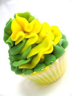 Green bay packers cupcake artisan soap