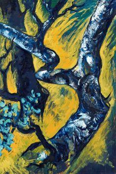 Bernd Zimmer, Olivenbäume, 1984