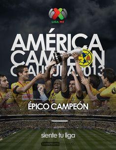 América Campeón • Épico Campeón • @Liga MX • #LigraficaMX
