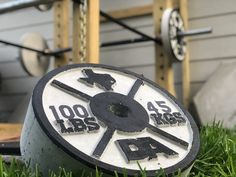 Stix and Stone | Concrete Weight Plate Molds Diy Power Rack, Stix And Stones, Weight Rack, Diy Home Gym, Gym Weights, Garage Gym, Wooden Diy, Physical Fitness, No Equipment Workout