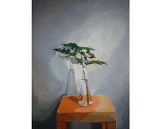 Elizabeth Mayville, Fern, oil on canvas, 16 x 12″ from Buy Some Damn Art