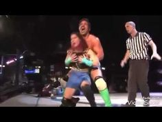 Eve Torres VS Candice Michelle new Latest Fight 2016