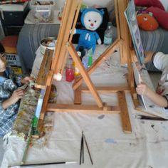 Clase de Pintura Viernes 6 de mayo 2016 – siento22mundos