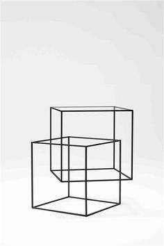 thin black lines collection by nendo