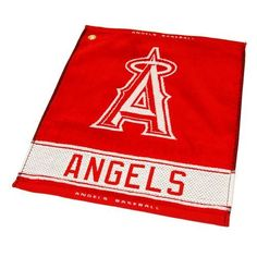 Team Golf Los Angeles Angels Woven Towel
